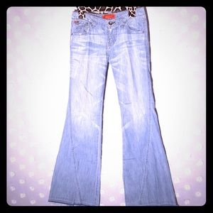 Level 99 bell bottom jeans